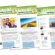 Création graphique journal interne Objectif - Agence Comm'Impact
