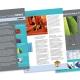 Design et mise en pages d'une newsletter - Société IonBond